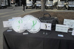 Swing Into Their Dreams Charity Golf Tournament Awards Table