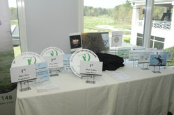 Swing Into Their Dreams Awards Table
