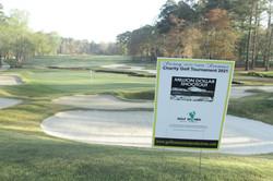 Golf Women Mean Business Golf Course Hole Sponsor