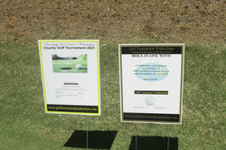 Swing Into Their Dreams Golf Course Hole Sponsors