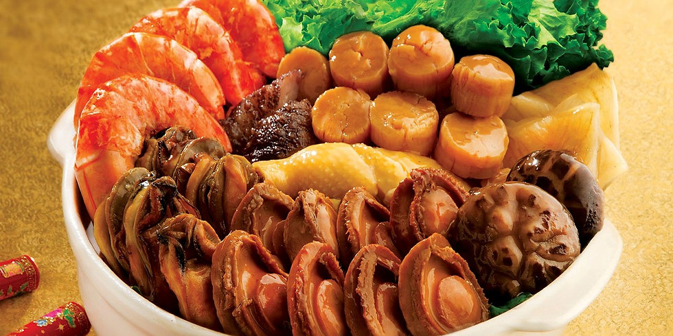 8-Course CNY Menu by Chef Jo Ann