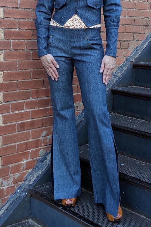 Sailor Flare Trouser Pant