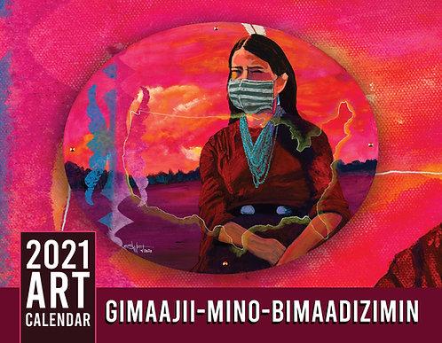2021 GIMAAJII-MINO-BIMAADIZIMIN Calendar