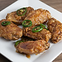 Honey Jalapeno Chicken Wings