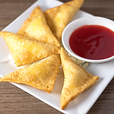 Crab Meat Cream Cheese Fried Wontons
