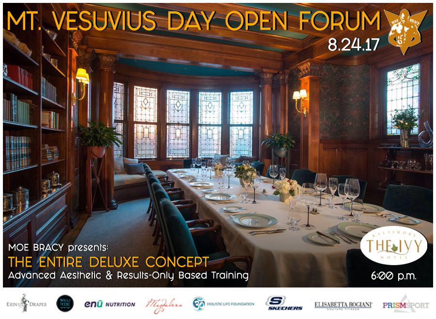 Mt Vesuvius Open Forum Poster 02