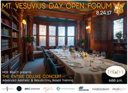 Mt Vesuvius Open Forum Poster 02