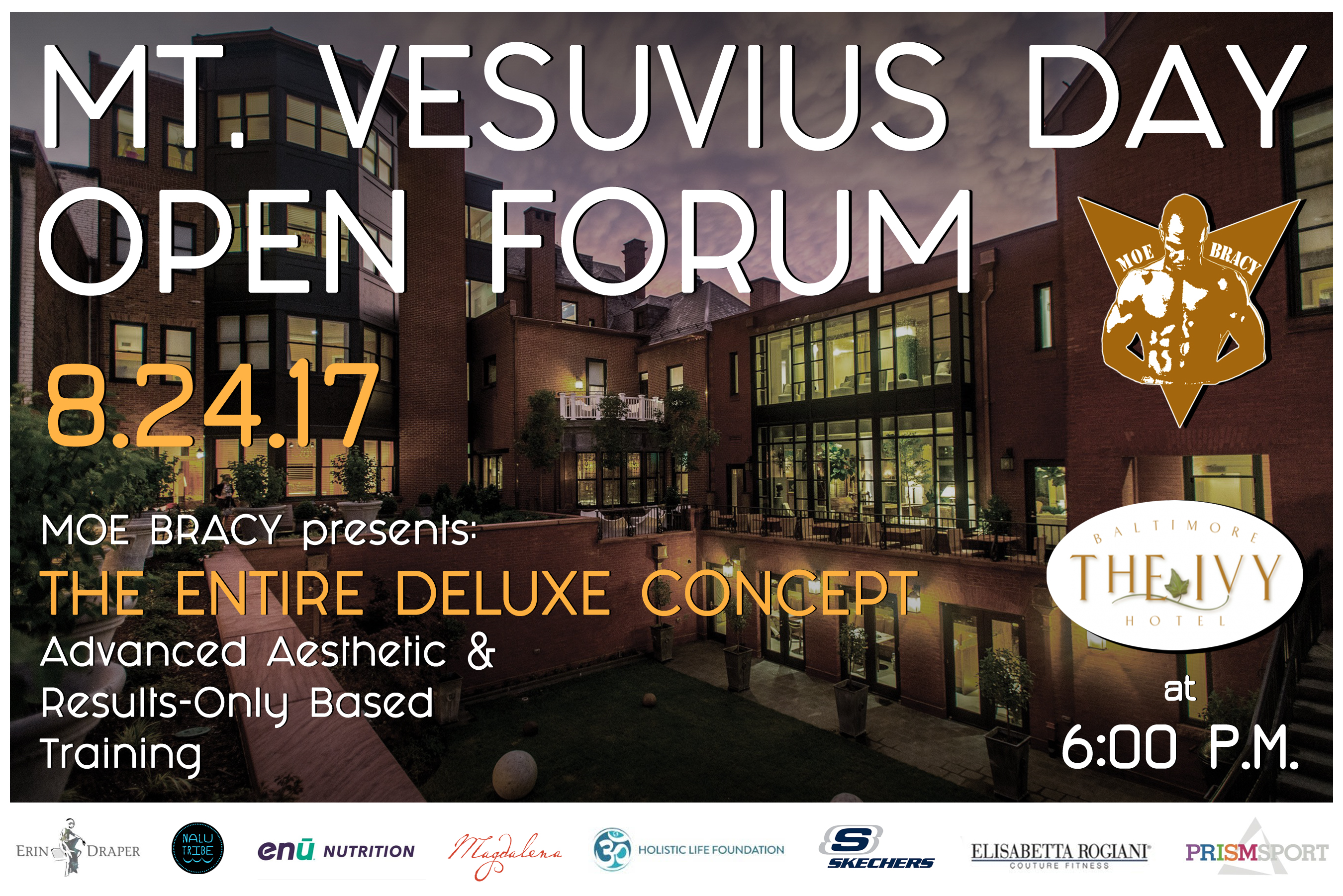 Mt Vesuvius Open Forum Poster