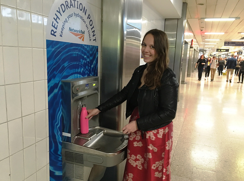 Since launching in 2018, the water fountain initiative by Network Rail has proven increasingly popular with passengers.