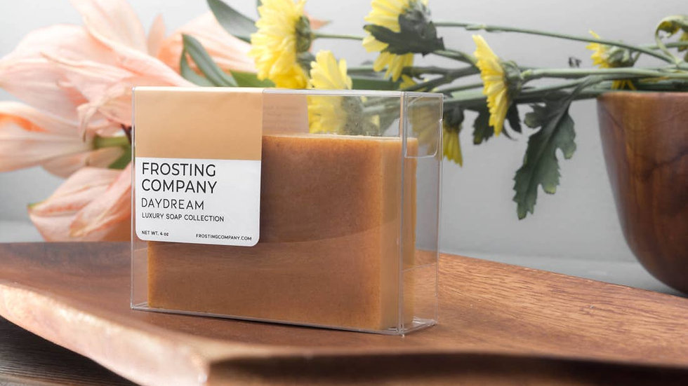 Frosting Company Soap Daydream Skincare Natural Organic Spa Vegan Clay Luxury