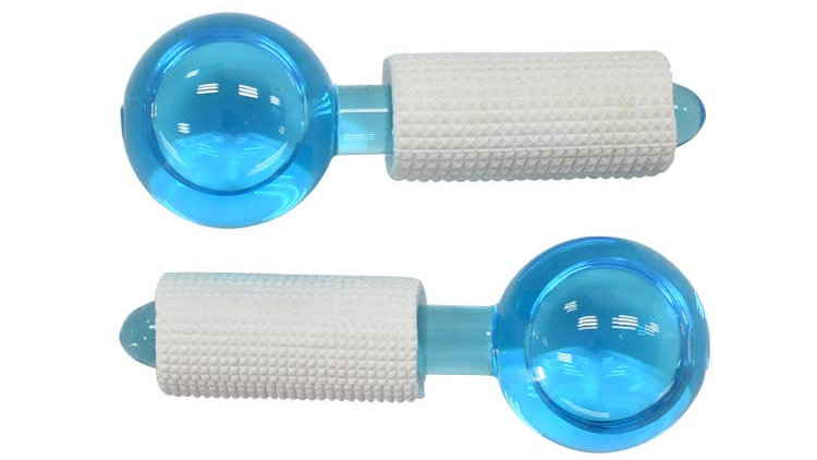ICE GLOBES COOLING GLOBES FOR THE FACE & EYES - 2 PAIR'S