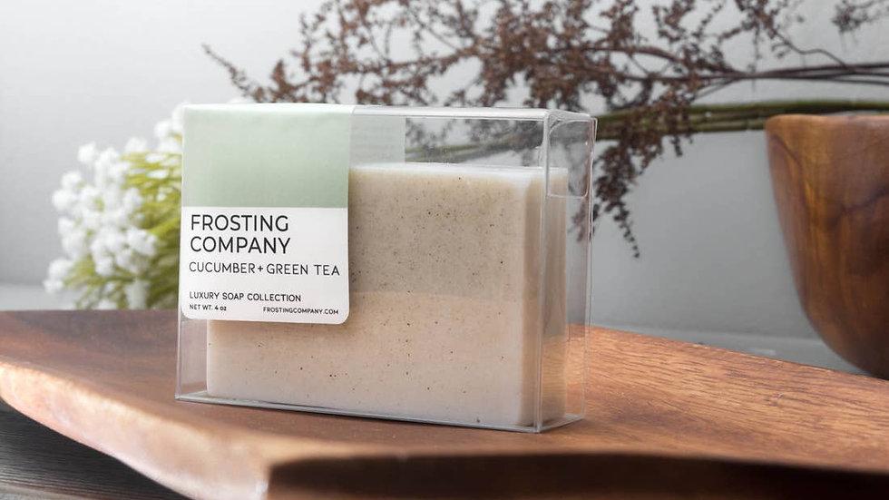 Frosting Company Soap Cucumber Green Tea Luxury Organic Spa Vegan Skincare