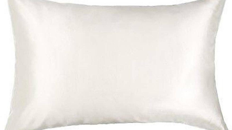 White Silk Pillowcase 25 momme