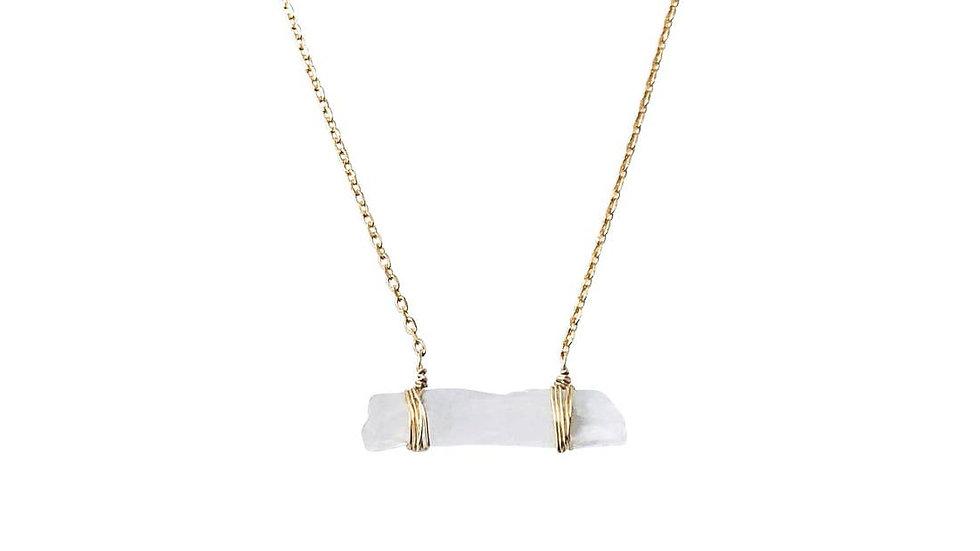 Raw Quartz Necklace