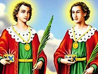 27 de Setembro: Dia de São Cosme e Damião. Conheça a oração!