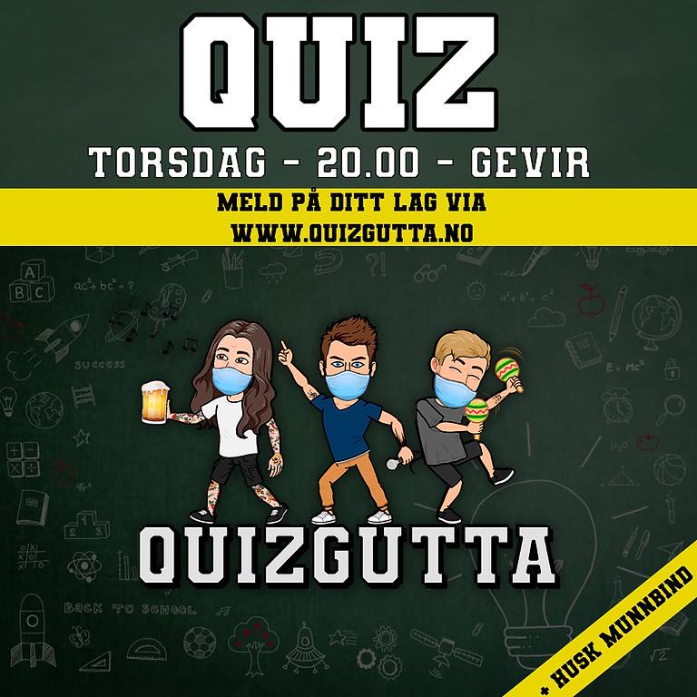 QUIZ - UTSATT