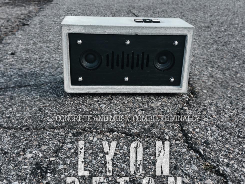 Beton Lyon Speaker | Speaker design