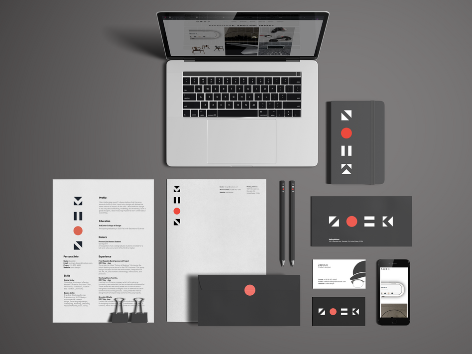 Zoek Identity Guideline | Graphic Design