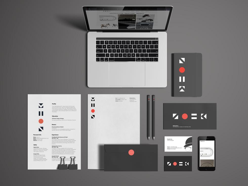 Zoek Identity Guideline | Graphic Design