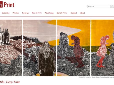 Orit Hofshi: Deep Time - Sarah Kirk Hanley