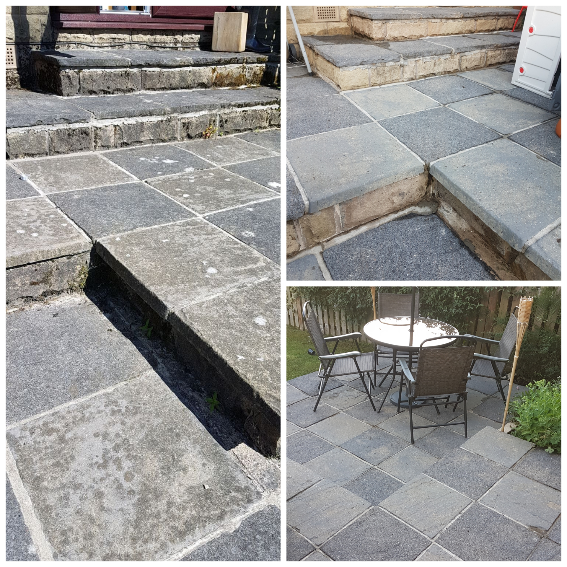 Patio cleaning within Holmfirth