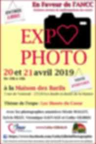 AFFICHE EXPO PHOTO AVRIL 2019 100% FEMIN