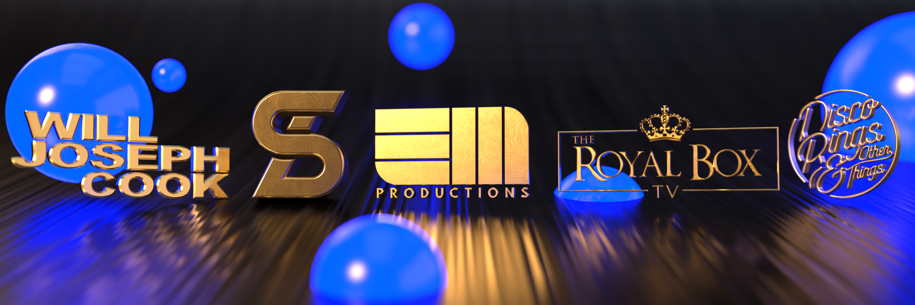 3D Versions of Logo Designs for Clients