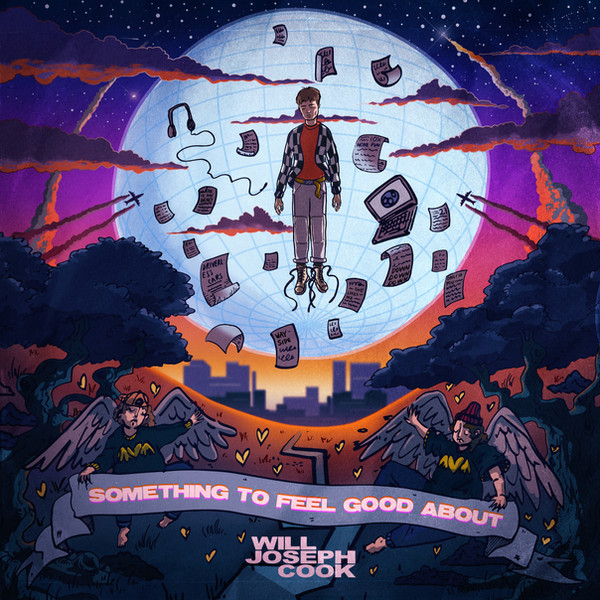 WILL JOSEPH COOK - SOMETHING TO FEEL GOOD ABOUT Album Packshot