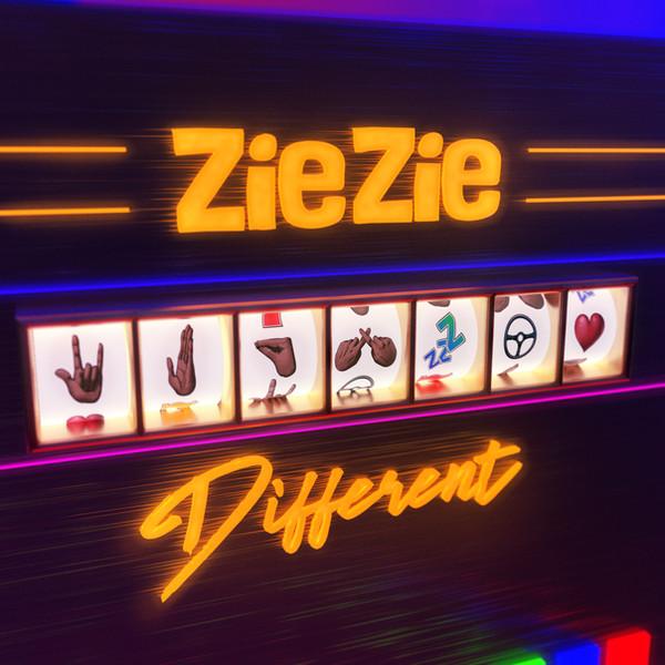 ZIEZIE - DIFFERENT Packshot