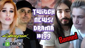 xQc Stream Sniping Ban, Summit1G Quitting, WingofRedemption Hate Speech - Twitch Drama/News #199