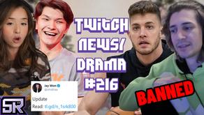 xQc/TrainWrecksTV NoPixel Banned, Pokimane On Dafran, Sinatraa Allegations - Twitch Drama/News #216