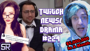 Streamers Cheat On Gameshow, Amouranth Responds to Hot Tub Meta, Ninja Clix - Twitch Drama/News #224