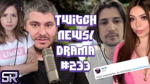 xQc and Adept Break Up, Streamers Setup Smashed By Intruder, H3h3 Pokimane - Twitch Drama/News #233