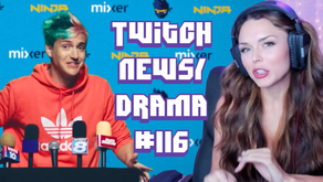 Twitch Drama/News #116 (HeatheredEffect Breastfeeding Update, Ninja Leaves Twitch, xQcOW ban)