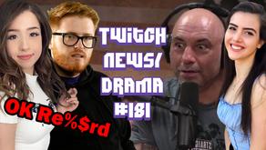 "PayMoneyWubby Calls Pokimane ""R%^&rd"", Hikaru On BotezLive, Joe Rogan Gaming -Twitch Drama/News #181"