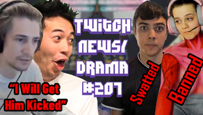 xQc Gets Ser Winter Banned, TSM Member Swatted, HasanAbi Furious At Twitch - Twitch Drama/News #207
