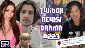 xQc Adept Drama Goes IRL, Gears Of War Pros Banned, Pokimane Hot Tub Stream - Twitch Drama/News #223