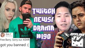 OfflineTV Scammed Pokelawls, xQc AmongUs Rage at Toast, ASMR Barry74 Ban - Twitch Drama/News #190