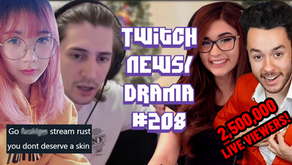 xQc Quits Rust, LilPichu Gets Harassment Over Drops, YourPrincess - Twitch Drama/News #208