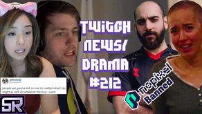 Sliker Banned GTA 5 NoPixel, Pokimane Responds to Hate,  Sodapoppin Poor - Twitch Drama/News #212