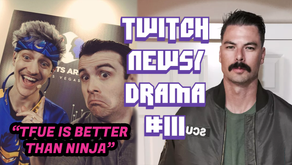 Twitch Drama/News #111 (Drdisrespect Responds to Ban, Drlupo Makes Ninja Mad, S1mple Throws Game)