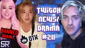 """OTK Kick JinnyTTY Out, Ninja Quits Fortnite """"Streamsniper"""", IndieFoxx Banned -Twitch Drama/News #211"""