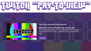 Twitch Force Viewers To Subscribe To Their Favourite Streamers To Continue To Watch