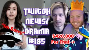 Pokimane Apology To ItsAGundam, xQc Hacked, Timthetatman First FallGuys Win -Twitch Drama/News #185