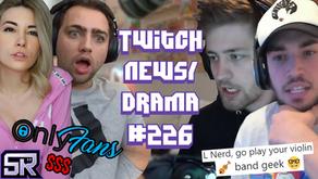 AdinRoss vs Cool Kids, xQc Streamsniper Nopixel 3.0, Alinity OnlyFans $$$ - Twitch Drama/News #226