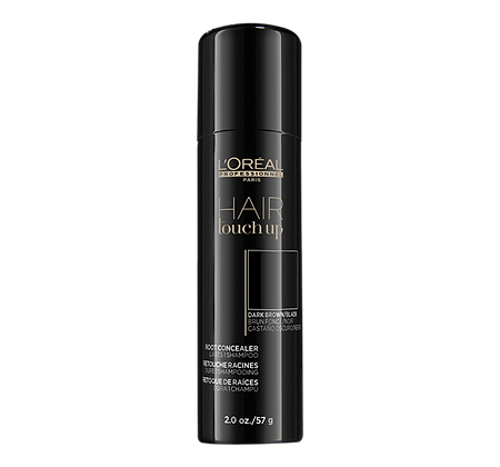 L'Oreal Hair Root Touch-Up Spray - Dark Brown/Black