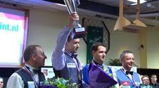 Biljartpoint Masters 2015 Jean van Erp Kampioen