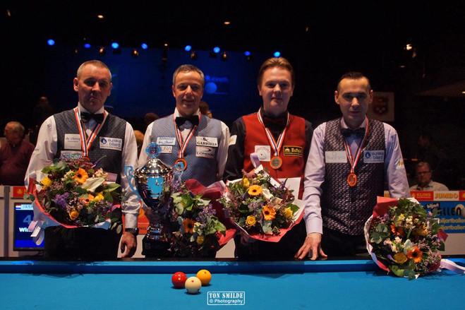 Podium Kling Masters 2017