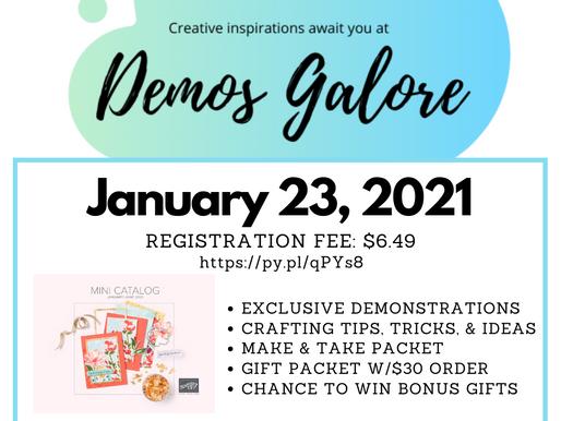 January 2021 Demos Galore