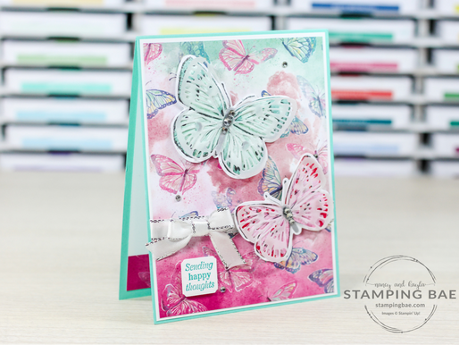 Butterfly Bouquet Thank You Card
